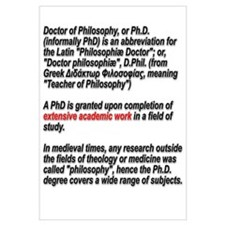 What is a PhD
