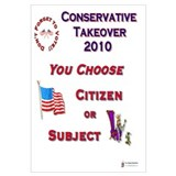 Conservative Takeover Choice
