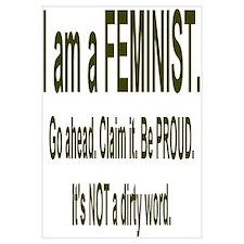 """""""Proud Feminist"""""""