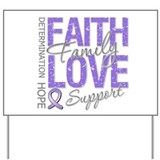 Faith Hodgkins Lymphoma Yard Sign