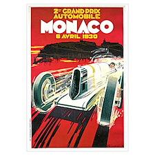 Vintage 1930 Monaco Auto Race
