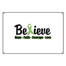 Believe (Lymphoma Awareness) Banner
