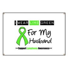 Lymphoma: I Wear Lime Banner