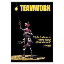 Teamwork Large Print