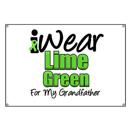 Lymphoma Grandfather Banner