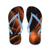 Fireworks Flip Flops