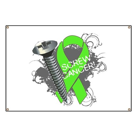 Screw Lymphoma Cancer Banner