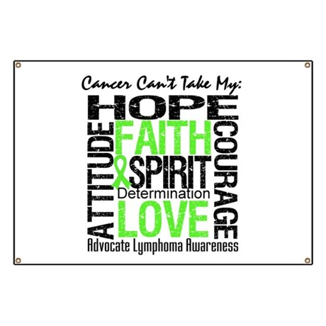 Cancer Can't - Lymphoma Banner