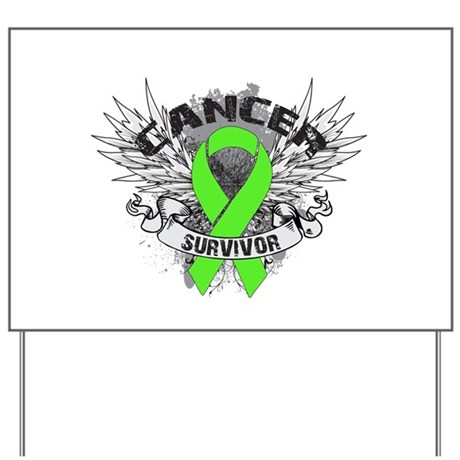 Screw Lymphoma Shirts Yard Sign