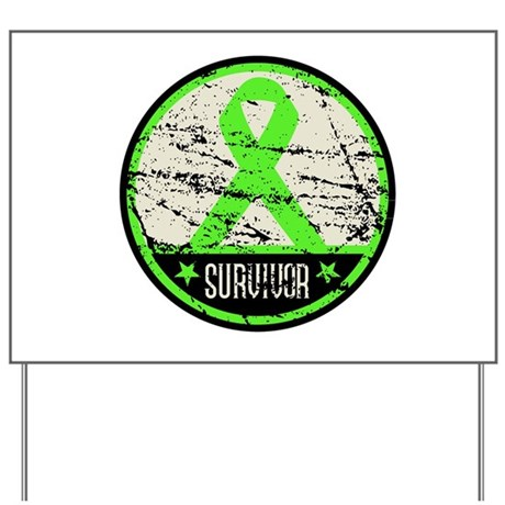 Survivor Circle Lymphoma Yard Sign