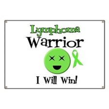 Lymphoma Warrior Banner