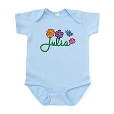 Julia Flowers Infant Bodysuit