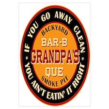 Grandpa's Backyard Bar-b-que Pit