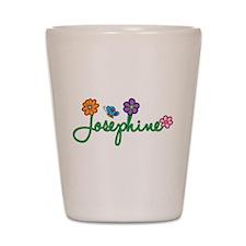Josephine Flowers Shot Glass
