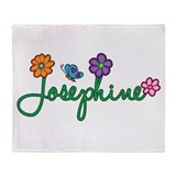 Josephine Flowers Throw Blanket