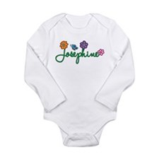 Josephine Flowers Long Sleeve Infant Bodysuit