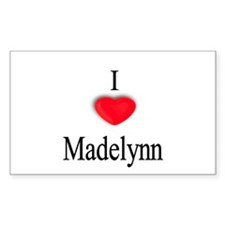 Madelynn Rectangle Decal
