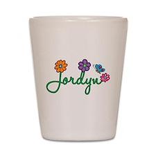 Jordyn Flowers Shot Glass