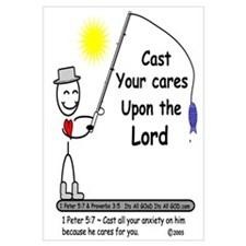 CAST YOUR CARES!