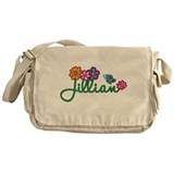 Jillian Flowers Messenger Bag