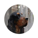 Gordon Setter Ornament (Round)