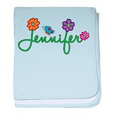 Jennifer Flowers baby blanket