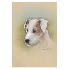 Unique Russell terrier Wall Art