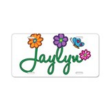 Jaylyn Flowers Aluminum License Plate