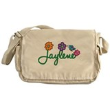 Jaylene Flowers Messenger Bag