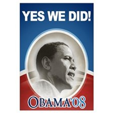 Yes We Did! Obama Image