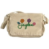 Jayden Flowers Messenger Bag
