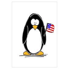 Patriotic penguin