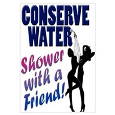 Save Water Shower With Friend