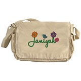 Janiyah Flowers Messenger Bag