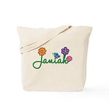 Janiah Flowers Tote Bag