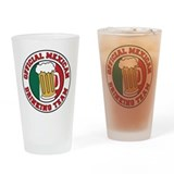 Official Mexican Drinking Team Drinking Glass