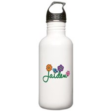 Jaiden Flowers Water Bottle