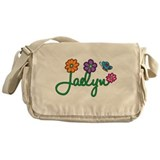 Jaelyn Flowers Messenger Bag
