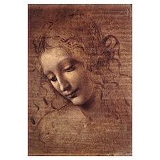 La Scapigliata by Leonardo da Vinci