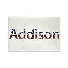 Addison Stars and Stripes Rectangle Magnet
