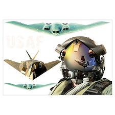USAF B-2 F-117 F-35