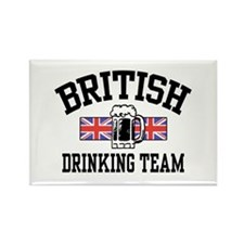 British Drinking Team Rectangle Magnet