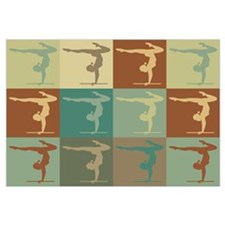 Gymnastics Pop Art