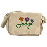 Jadyn Flowers Messenger Bag
