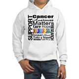 Support All Cancers Jumper Hoody