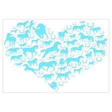 Horse Heart Art