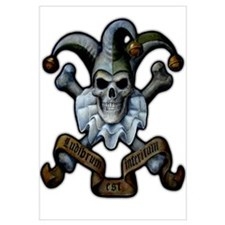 Skull and Cross Bones Jester