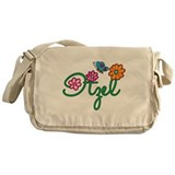 Itzel Flowers Messenger Bag