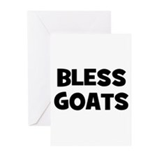 Bless Goats Greeting Cards (Pk of 10)