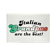 Italian Grandpas Rectangle Magnet